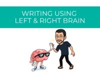 My Writing Process Using Left and Right Brain